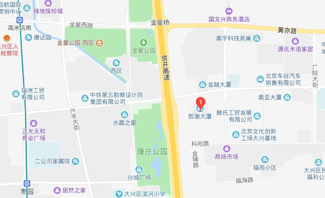 Beijing Moesit Technology GmbH-Map